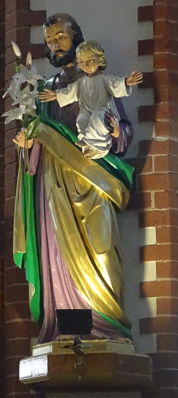 Figura Świętego Józefa z naszego Kościoła