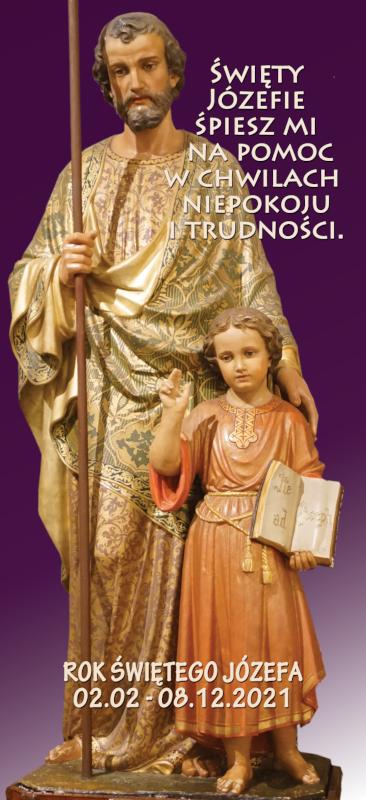 Rok Świętego Józefa - plakat pierwszy