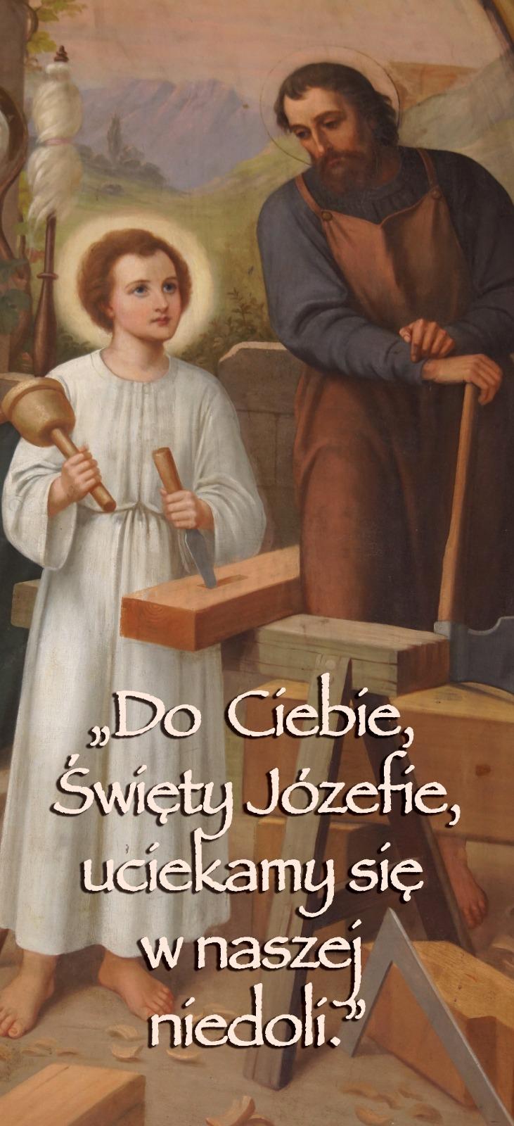 Rok Świętego Józefa - plakat trzeci